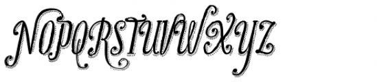 Infusion Mix Font UPPERCASE