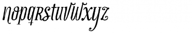 Infusion Roman Font LOWERCASE