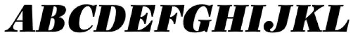Ingeborg Fat Italic Font UPPERCASE