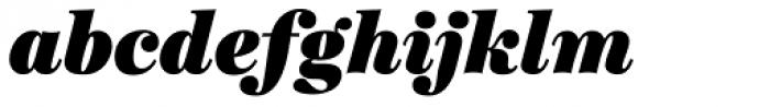 Ingeborg Fat Italic Font LOWERCASE