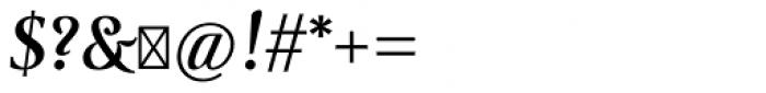 Ingleby II Bold Italic Font OTHER CHARS