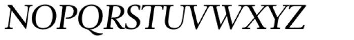 Ingleby II Italic Font UPPERCASE