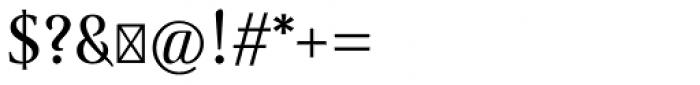 Ingleby II Font OTHER CHARS