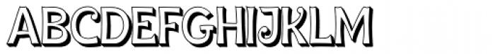 Ingone Shadow Font UPPERCASE