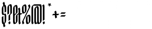 Ingot 500 Font OTHER CHARS