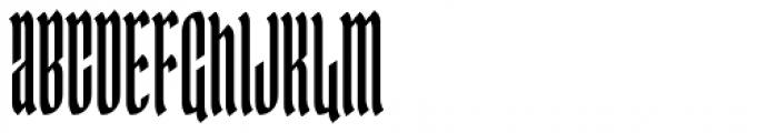 Ingot 500 Font UPPERCASE