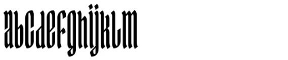 Ingot 500 Font LOWERCASE