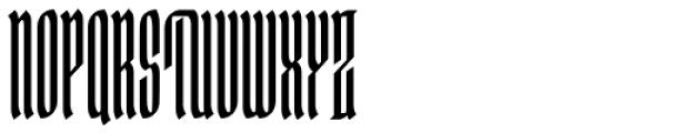 Ingot 750 Font UPPERCASE
