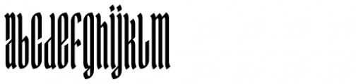 Ingot 750 Font LOWERCASE