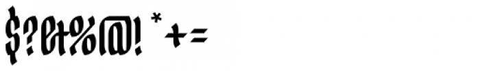 Ingot Font OTHER CHARS