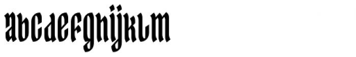 Ingot Font LOWERCASE