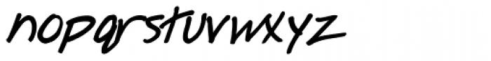 Ingrid Font Bold Italic Font LOWERCASE