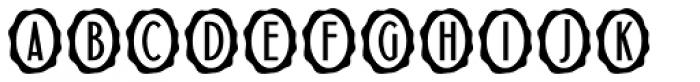 Initial Seals JNL Font UPPERCASE