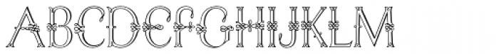 Initials RMU Four Font LOWERCASE