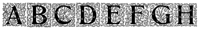 Initials RMU Two Font UPPERCASE