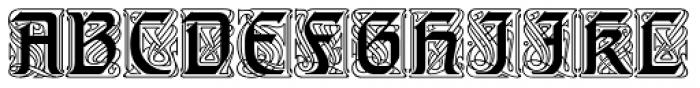 Initials RMU Two Font LOWERCASE