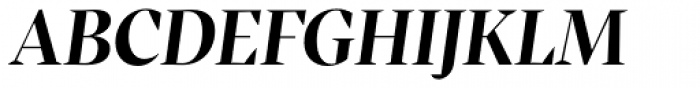 Inka A Display Bold Italic Font UPPERCASE