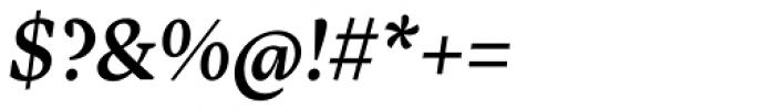 Inka A Text Medium Italic Font OTHER CHARS