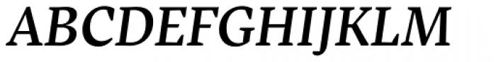 Inka A Text Medium Italic Font UPPERCASE