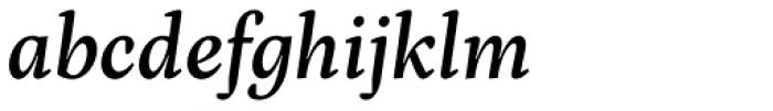 Inka A Text Medium Italic Font LOWERCASE