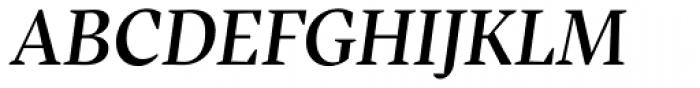 Inka A Title Medium Italic Font UPPERCASE
