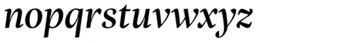 Inka A Title Medium Italic Font LOWERCASE