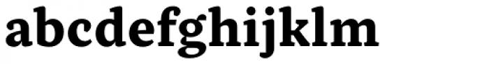 Inka B Small Bold Font LOWERCASE