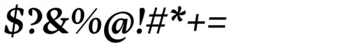 Inka B Text Medium Italic Font OTHER CHARS