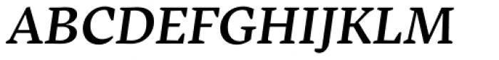 Inka B Text Medium Italic Font UPPERCASE