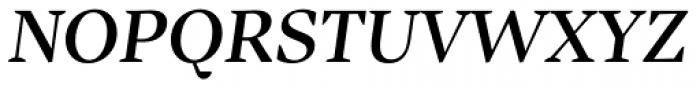 Inka B Title Medium Italic Font UPPERCASE