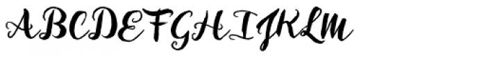 Inkheart Brush Font UPPERCASE
