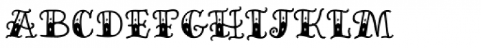 Inkheart Circus Font LOWERCASE