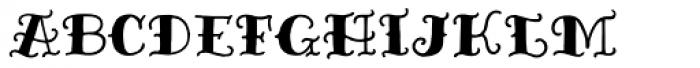 Inkheart Sailor Font UPPERCASE