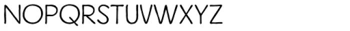 Inkheart Sans Font UPPERCASE