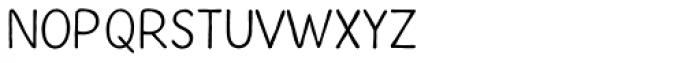 Inkheart Sans Font LOWERCASE