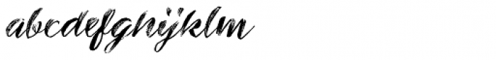 Inkheart Wide Brush Dry Font LOWERCASE