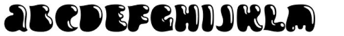 Inklea Slick Font LOWERCASE