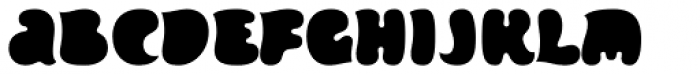 Inklea Solid Font LOWERCASE
