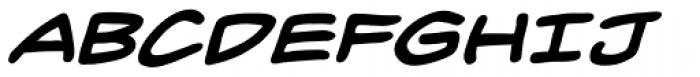 Inkslinger BB Bold Italic Font UPPERCASE