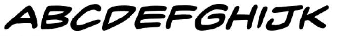 Inkslinger BB Bold Italic Font LOWERCASE