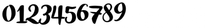 Inkston Brush Font OTHER CHARS