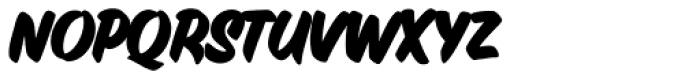 Inkston Casual Bold Font LOWERCASE