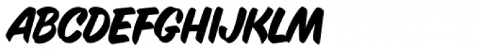 Inkston Casual Regular Font LOWERCASE