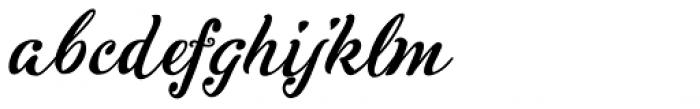 Inkston Script Font LOWERCASE