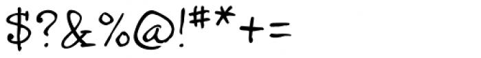 InkyDoo serif Font OTHER CHARS
