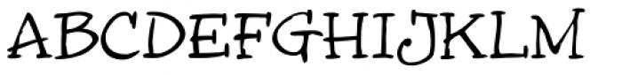 InkyDoo serif Font UPPERCASE