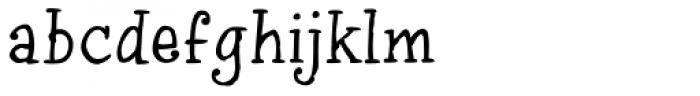 InkyDoo serif Font LOWERCASE