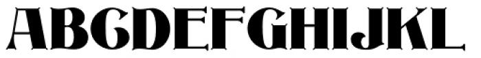 Inland Edwards Plain NF Font UPPERCASE