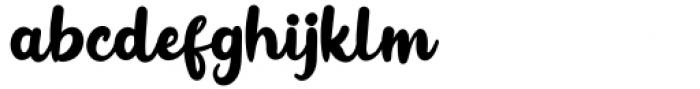Inner Vintage Regular Font LOWERCASE