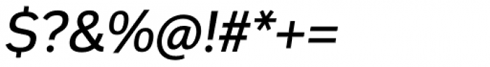 Innova Alt Medium Italic Font OTHER CHARS